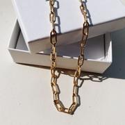 Gliederkette von 'Molokai' in Silber oder Gold