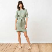 Unkompliziert & natürlich: 'Lili'-Dress in Almond Green