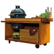 Grosse Grill-Outdoor-Küche 'Kamado Table Pro 135'