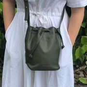 Small Pure Bag von 'Atelier S&R' in Olive