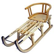 Der 'Davoser' Schlitten mit Kindersitz