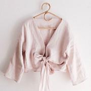 Bluse Lukida von 'Sun + Her' in blush