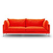 Sofa 'Butterfly' mit Leinenbezug