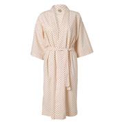 Charmanter Baumwoll-Kimono mit Punkten