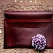 'Leder-Envelope' für iPad