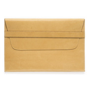 Rothirsch ipad air leather envelope natural front