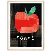 Kunst-Plakat 'Pomme'