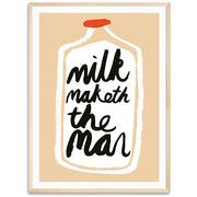 Kunst-Plakat 'Milk'
