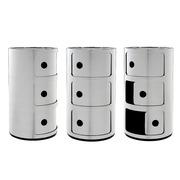 Container 3 metallic von 'Componibili'