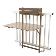 Bistro table balcon 77x57 muscade