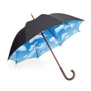 Regenschirm mit Himmel