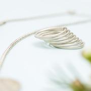 Ring 'Mirissa' in Silber