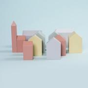 Bauklötze 'Häuserset Basel'