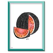 Erfrischend grafischer 'Melonen-Print'