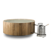 Outdoorbad mit Holz 'Dutchtub Wood'