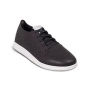 Schwarzer Leder-Sneaker NO. 32 von 'Velt'