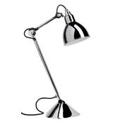 Tischleuchte 'Lampe Gras 205' in Chrom