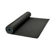Schwarze Yogamatte