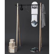 39 dress up 39 garderobenstange klein. Black Bedroom Furniture Sets. Home Design Ideas