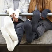 Weiche Socken aus Merinowolle