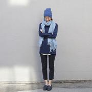01 tiftiffy wollschal blau