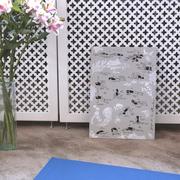 2 Yogaplakate 'Rücken und Nacken'
