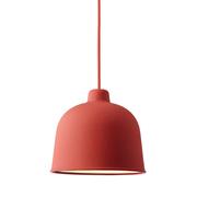 Muuto grain pendel lamp dusty red med res