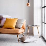 Lounge Chair 'Spine' in Leder
