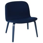 'Visu' Lounge Chair mit Stoffbezug