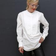 Lange Bluse Charlotte von 'Les Blancs'
