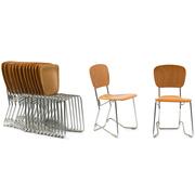 Praktischer 'Aluflex' Stuhl