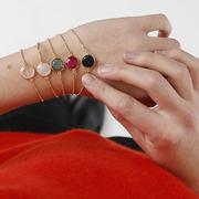 Glücksarmbänder von 'Jolie Bohème' vergoldet