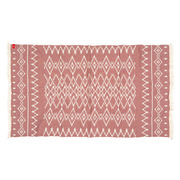 Rothirsch inca towel red front