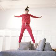 Jumpsuit rot 01