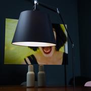 Stehlampe 'Tolomeo' in schwarz