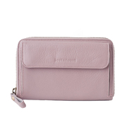 2 medium smartphone wallet dusty rose front