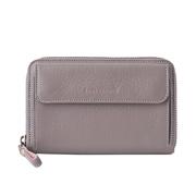 2 medium smartphone wallet pale stone front