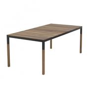 Schlichter Holztisch 'Tiemen'