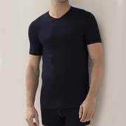 V-Neck Pureness Shirt navy von 'Zimmerli'