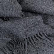 Plaid oder Schal aus Baby-Alpakawolle