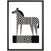 Bild 'Zebra Stripe' gerahmt