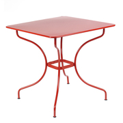 Opera table77x77 coquelicot
