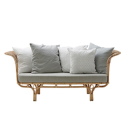 Neues Rattan-Sofa 'Belladonna'