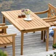 Gartentisch 'Skagen' aus Teak