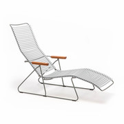 Click sunlounger gray big