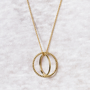 Halskette 'Sophie Saturn' in Gold