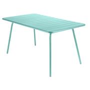 Luxembourg 20 table 20143x80 bleu 20lagune
