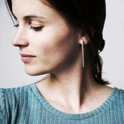 Schlichte Ohrringe 'Mannar'
