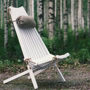 'EcoChair' aus Birkenholz in Weiss