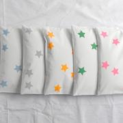 Hirsekissen mit Sternen